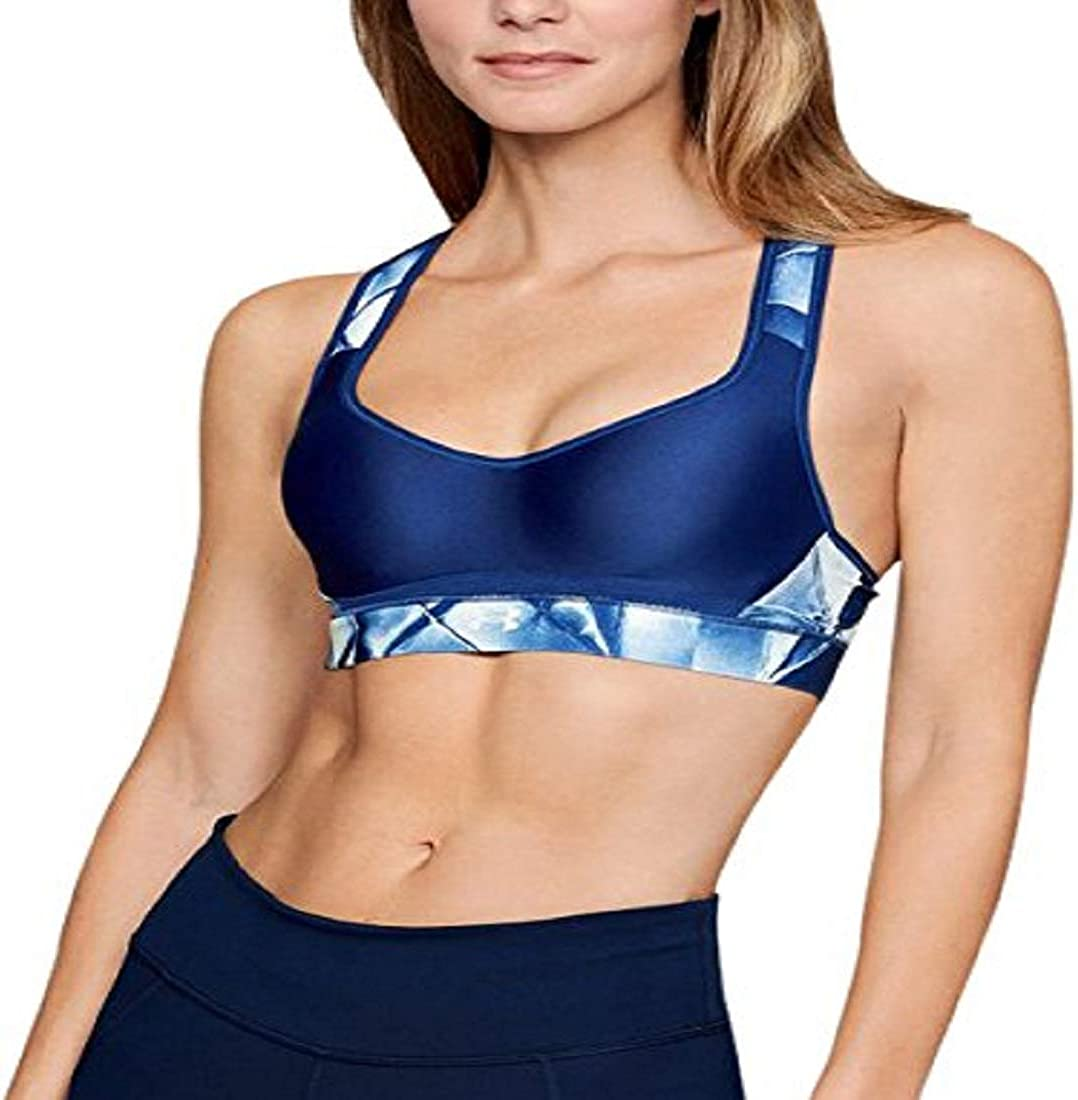 Under Armour Women's Warp Knit High Printed Sports Bra