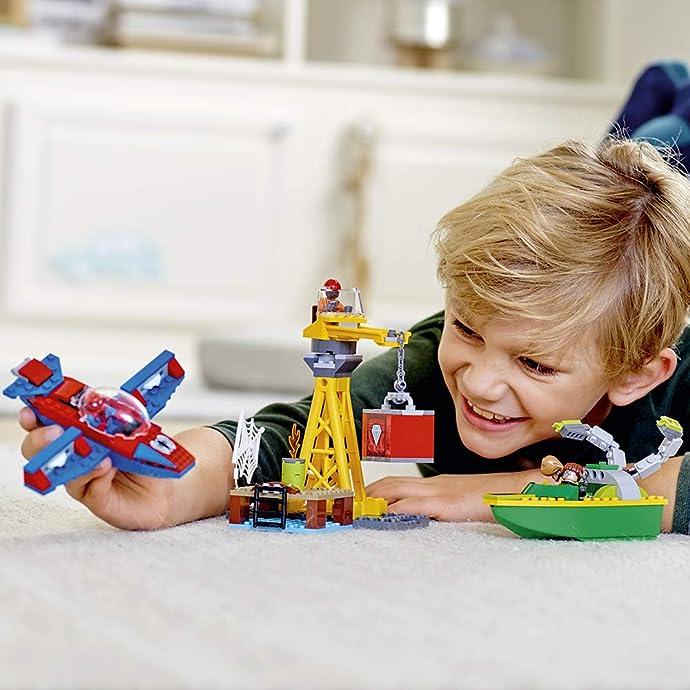 LEGO 乐高 76134 复仇者联盟4 漫威英雄系列 蜘蛛侠钻石保卫战 积木玩具 5.7折$16.99 海淘转运到手约¥154