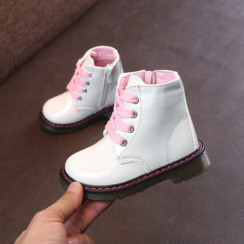 ❤ Botas para Niños Bebés, Invierno Cálido Niños Niñas Sneaker Botas a Prueba de Agua Nieve Zapatos Casuales Absolute: Amazon.es: Ropa y accesorios