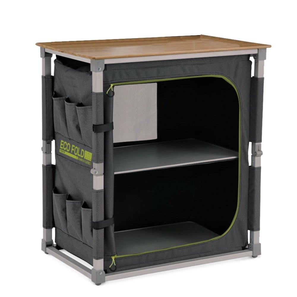 EXTREM robust Eco Fold Single Design Campingschrank vollständig faltbar