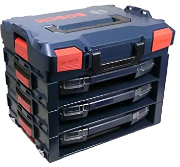 3 x active Rack 3 x  I-BOXX 53 Bosch L-BOXX Größe 1 Sortimo 102