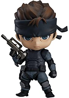 NENDOROID METAL GEAR SOLID ACTION FIGURE SNAKE RAIDEN MGS2 SONS OF LIBERTY #1