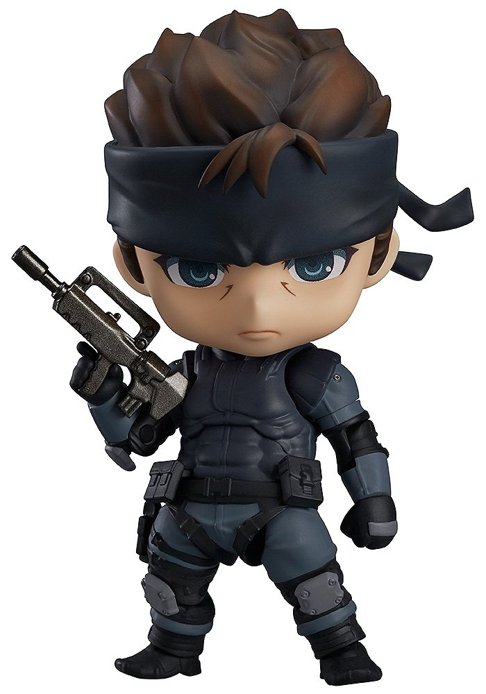 Metal Gear Solid Solid Snake Nendoroid Action-Figur