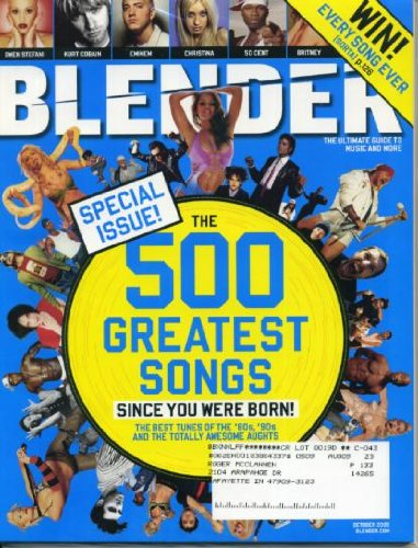 Blender October 2005 Lil' Kim, Sheryl Crow, The Killers, Death Cab For Cutie