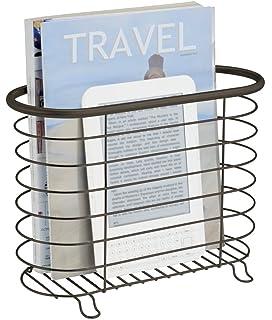 Interdesign York Lyra Over The Tank Magazine Holder Bronze Amazon InterDesign York Lyra OvertheTank Magazine Holder 39