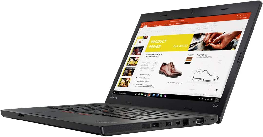 "Lenovo 20JU000DUS Thinkpad L470 20JU 14"" Notebook - Windows - Intel Core i5 2.3 GHz - 8 GB RAM - 256 GB SSD, Black"
