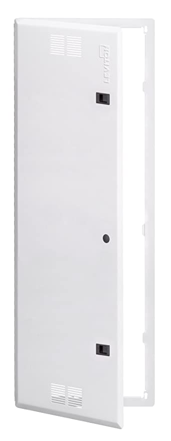 Leviton 47605-42S 42-Inch Vented Premium Hinged Structured Media Door White  sc 1 st  Amazon.com & Leviton 47605-42S 42-Inch Vented Premium Hinged Structured Media ...