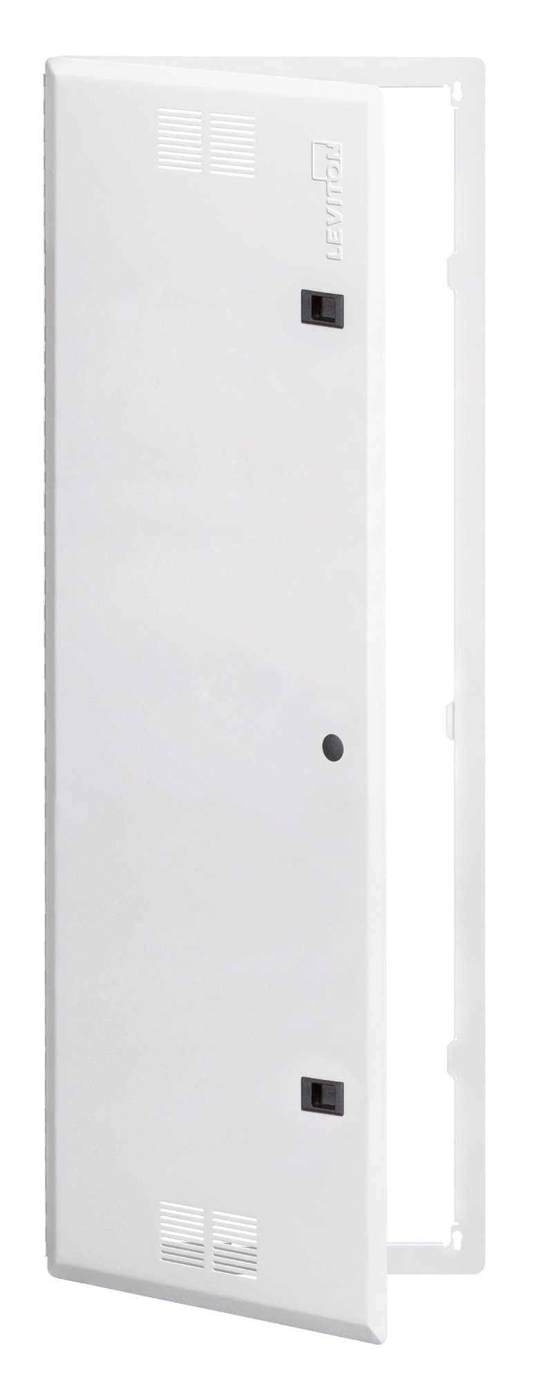 Leviton 47605-42S 42-Inch Vented Premium Hinged Structured Media Door, White