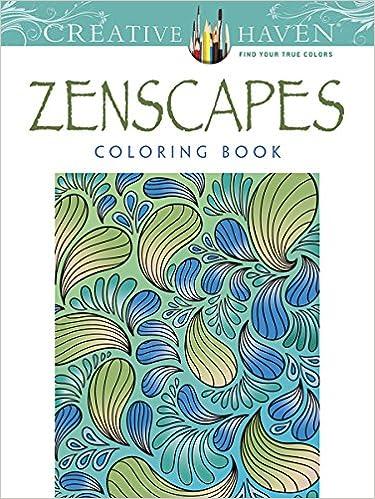 Amazon Creative Haven Zenscapes Coloring Book Adult 9780486780542 Jessica Mazurkiewicz Books