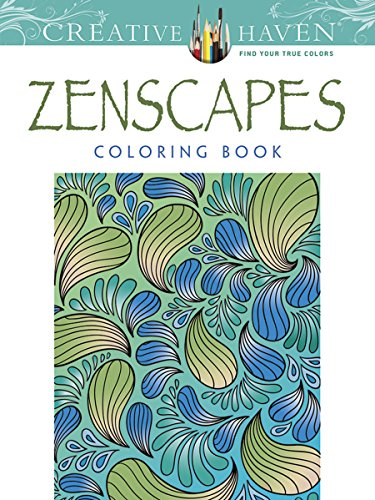 Creative Haven Zenscapes Coloring Book (Adult - Guy Cards Christmas Single