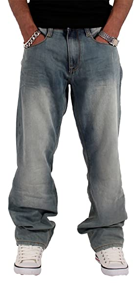Amazon.com: Rocawear Hombre Doble R Loose Fit Jeans: Clothing