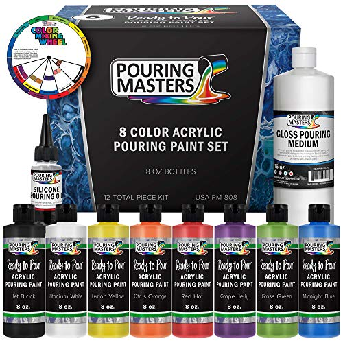 Pouring Masters 8-Color Ready