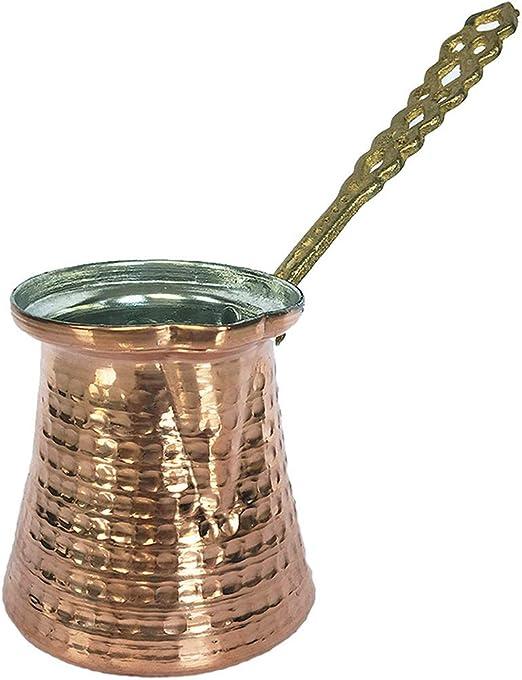 Cafetera turca de cobre 130 ml - 1 Cup cobre: Amazon.es: Hogar