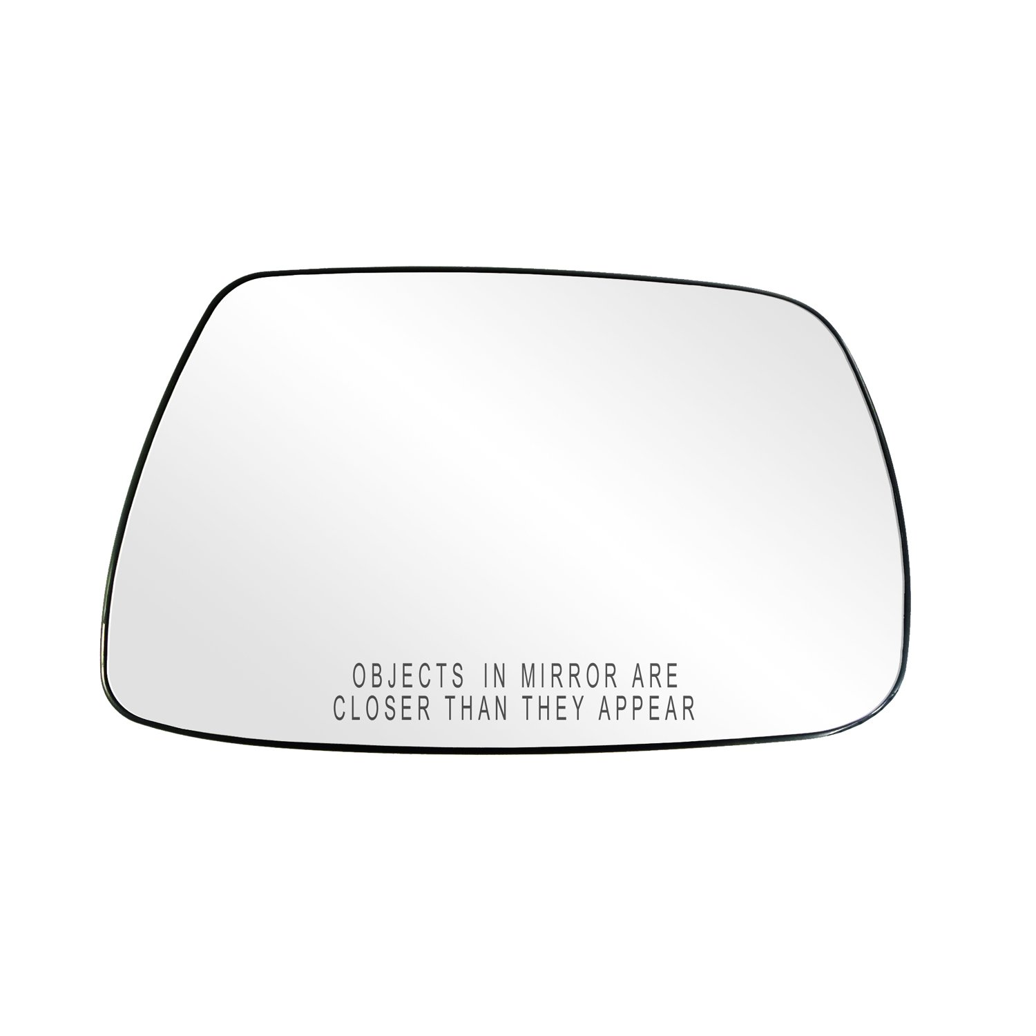 Fit System 80265 Jeep Grand Cherokee Right Side Power Replacement Mirror Glass with Backing Plate