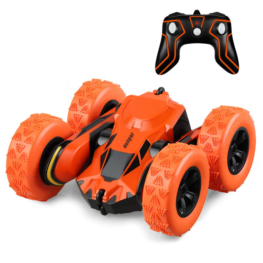 Toys & Hobbies Rc Cars Energetic 2.4ghz 4wd 1:18 Off Road Double-sided Stunt Birthday Vehicle Racing Track Boat Rotatable Amphibious Remote Control Gift Rc Car