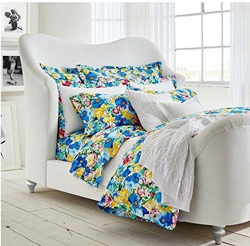 Ralph Lauren Ashlyn Floral Blue Multicolor Duvet Cover - (Ralph Lauren Comforter Cover)