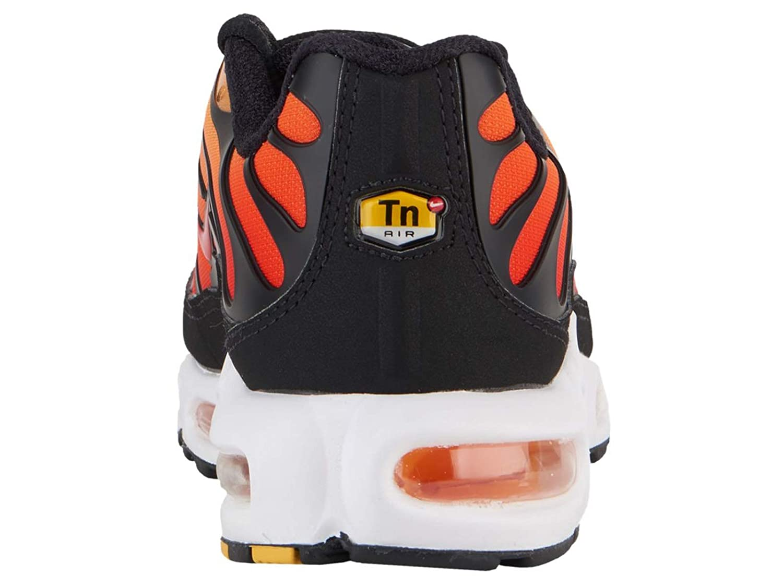 8fe3476553 Amazon.com | Nike Men's Air Max Plus Black/Pimento/Bright Ceramic/Resin  Mesh Running Shoes 14 M US | Shoes