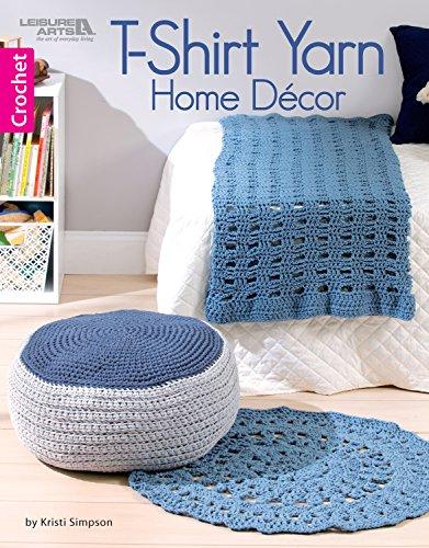 T-Shirt Yarn Home Décor: 11 Crochet Home Décor Projects