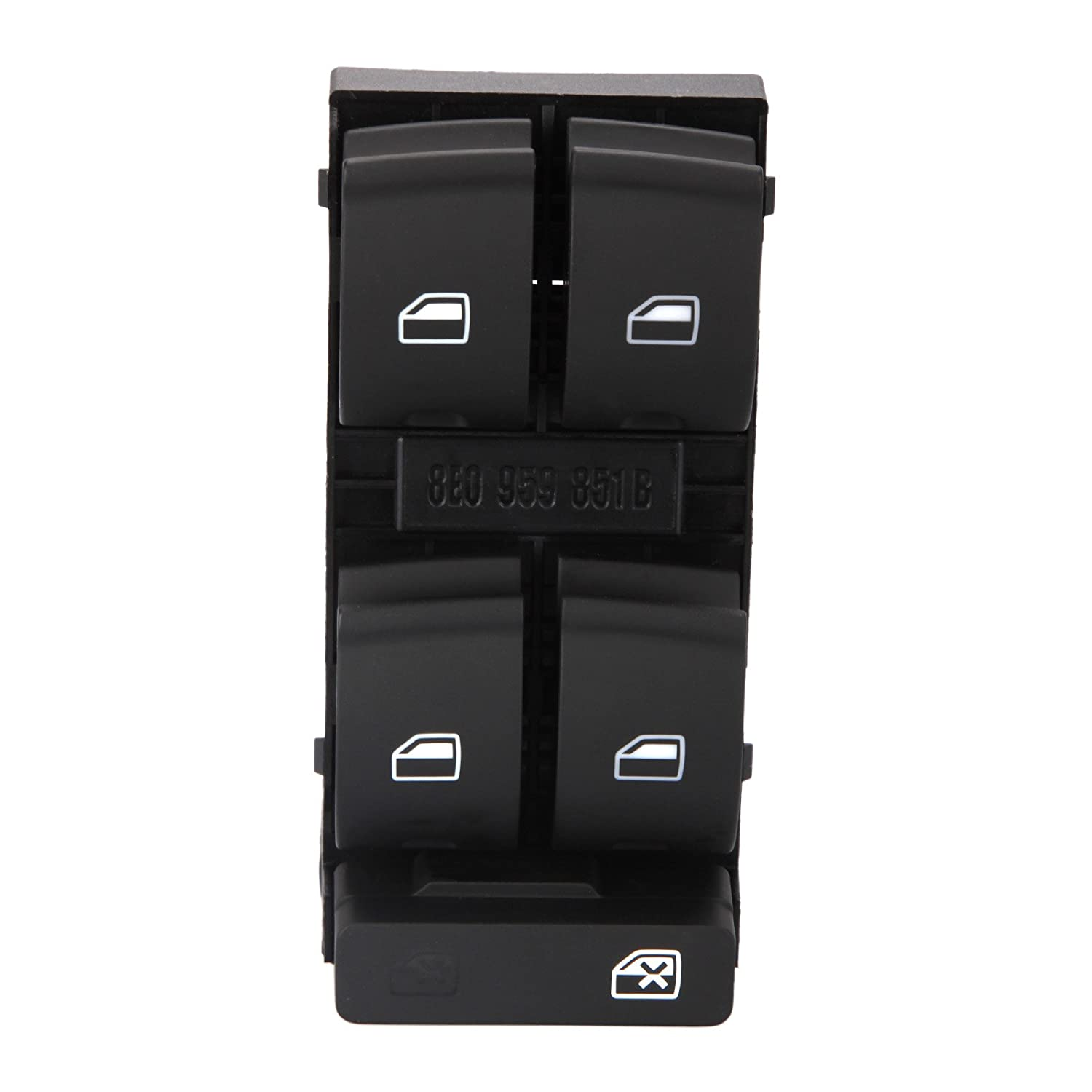 Electric Master Window Control Switch for A4 Avant B6 B7 Exeo ST 8E0959851 RICH CAR