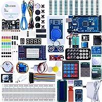 Elegoo EL-KIT-008 Mega 2560 Project El último kit de inicio más completo con TUTORIAL para Arduino UNO Nano