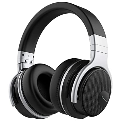 f2cd7f00a54 Meidong E7 Active Noise Cancelling Bluetooth Headphones Over Ear with  Microphone Hi-Fi Deep Bass