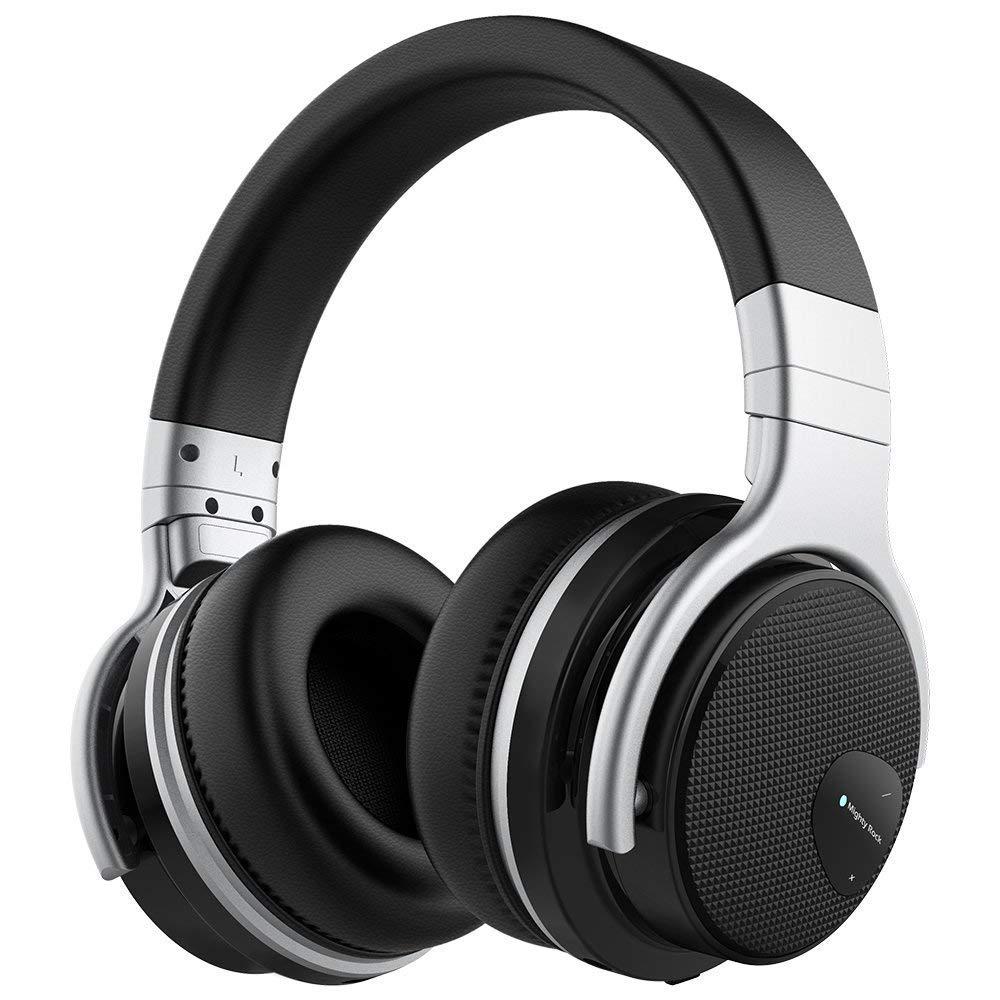 Auriculares meidong E7 Cancelacion de Ruido Activa Bluetooth Over-Ear con Microfono Hi-Fi Deep Bass Confortable Protein