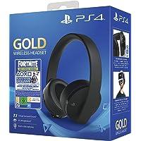 Sony Gold Black Wireless 7.1 Gaming Headset - Fortnite Neo Versa Bundle PS4