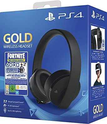 Gold Wireless Headset Fortniteneo Versa Bundle (PS4): Amazon