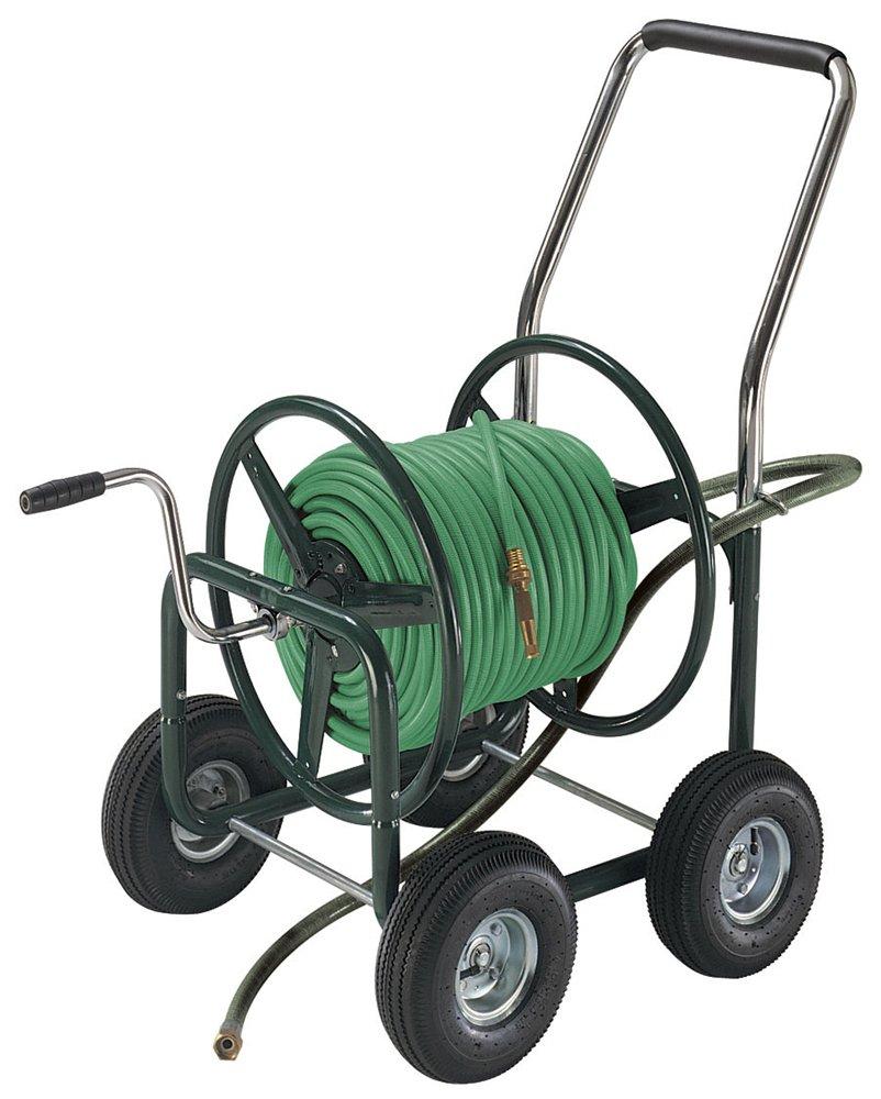 Amazon.com : Ames 175 Foot Capacity Poly Hose Cart   2418900 : Garden Hose  Reels : Garden U0026 Outdoor