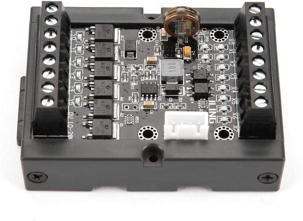 Luckya PLC Programmable Logic Controller 10-28V PLC Regulator FX1N-14MT Industrial Control Board Programmable Logic Controller