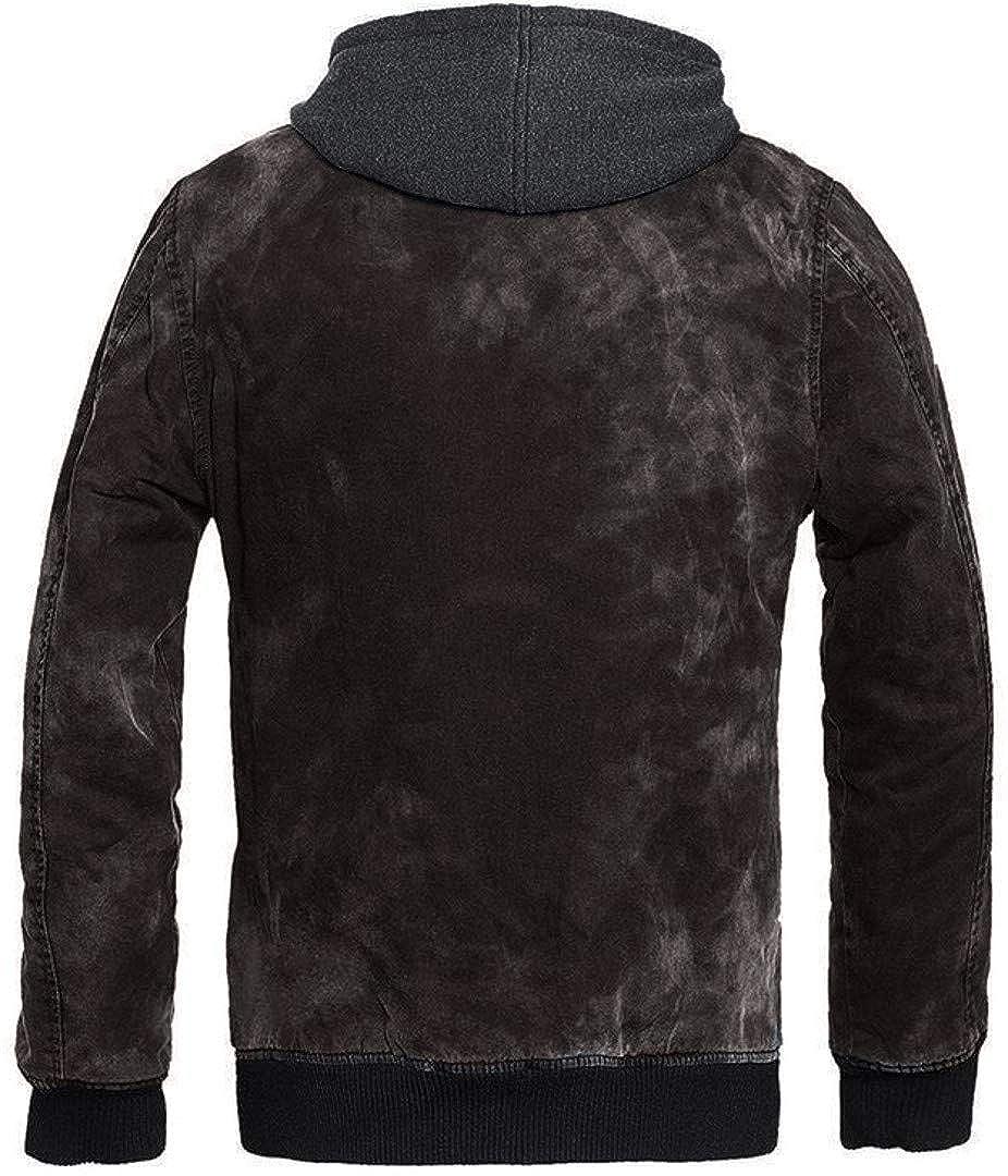 Brandit Mens Dayton Jacket Black Washed