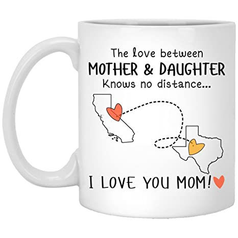 Amazoncom California Texas The Love Between Mother And Daughter