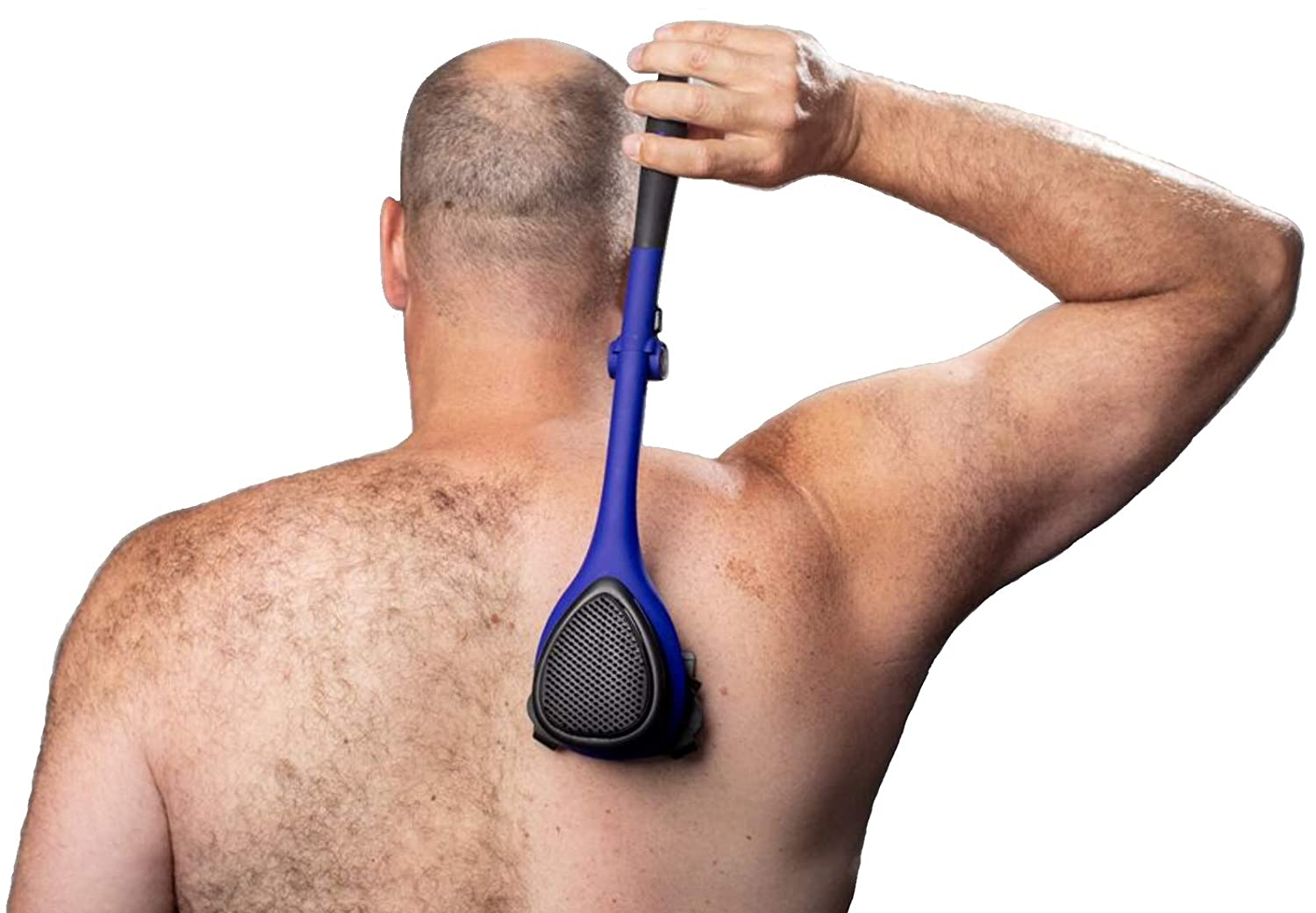 baKblade 20 ELITE PLUS  Back Hair Removal and Body Shaver DIY Ergonomic Handle Shave Wet or Dry
