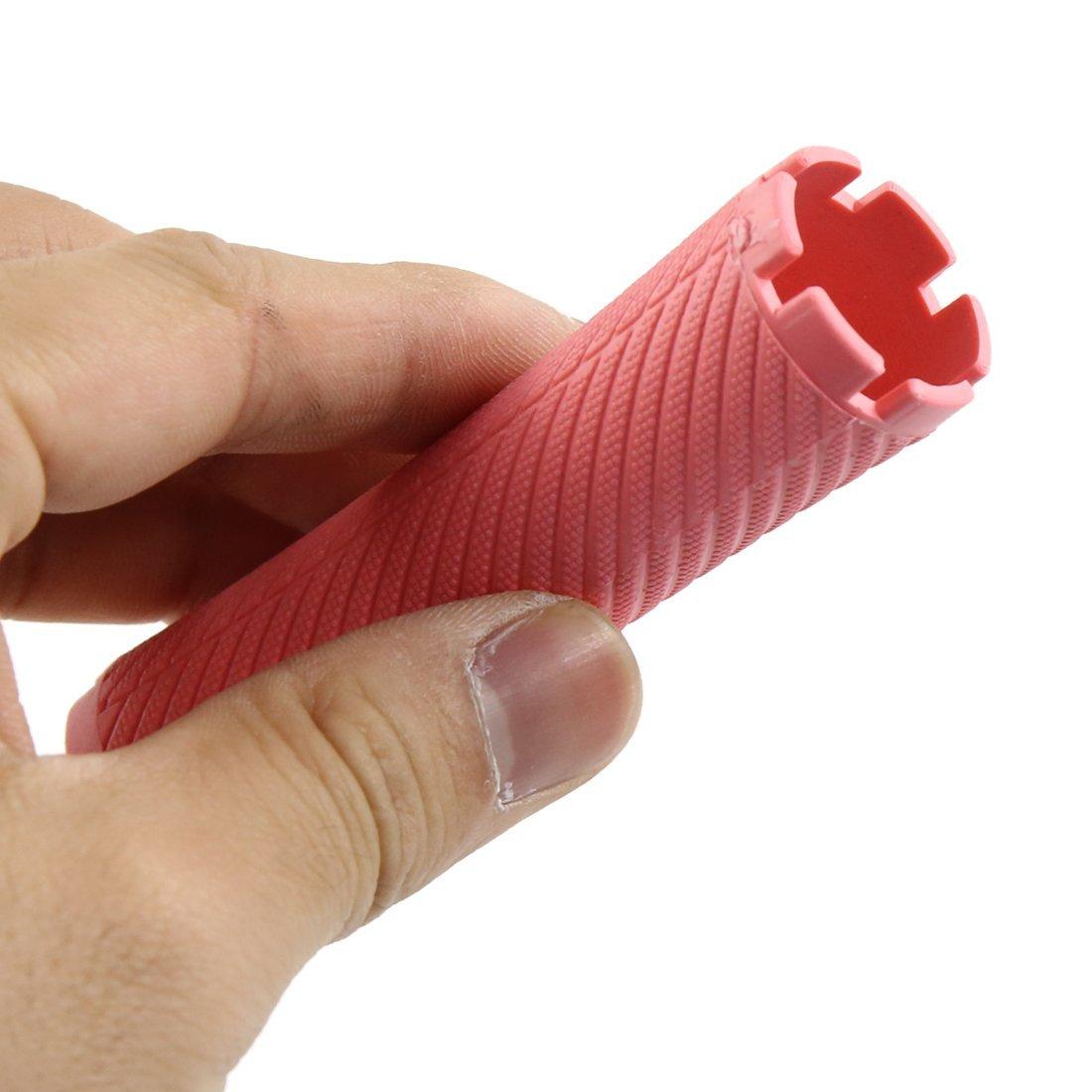 Amazon.com: eDealMax 20pcs Pink Shell Duro Bangs Hair Styling herramientas de bricolaje Mujeres mismo sosteniendo Rizador: Health & Personal Care