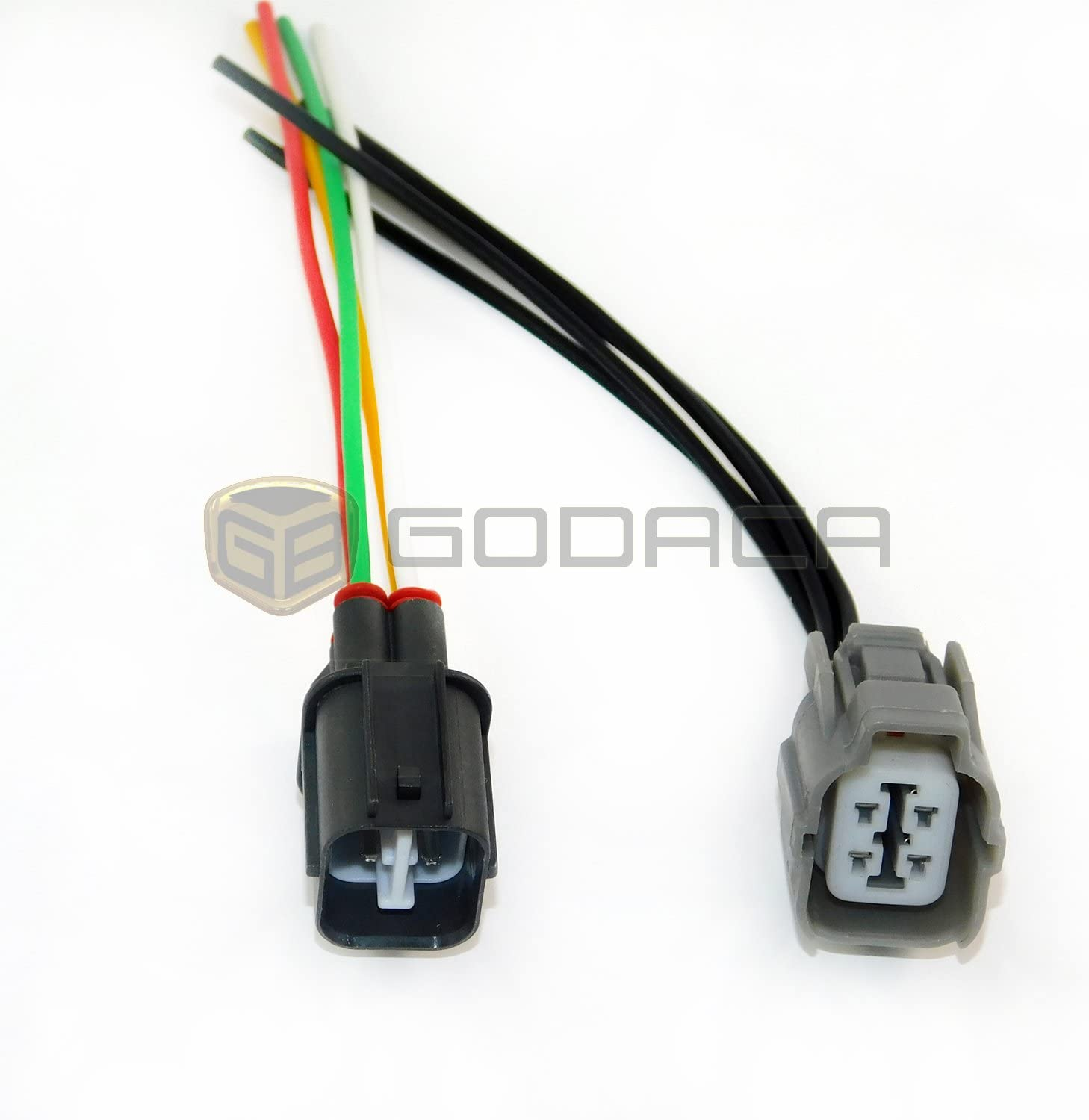 O2 Oxygen Sensor Female Wiring Harness Pigtail 4 Wire Honda Civic Integra Accord