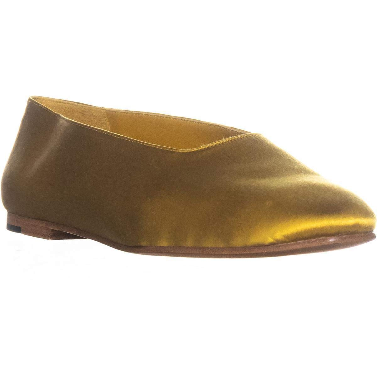 Vince Womens Maxwell 2 Pointed Toe Slide Flats