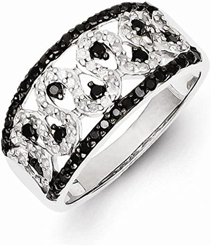 Best Quality Free Gift Box Satisfaction Guaranteed Sterling Silver Diamond Mens Band