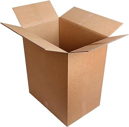 15 Pieza Caja de cartón para envío Embalajes Cajas de Cartón Plegable 600 x 400 x 700 mm, 60 x 40 x 70 cm Top calidad: 2.3 de onda BC 7 mm de grosor afco 0201.: Amazon.es: Oficina y papelería