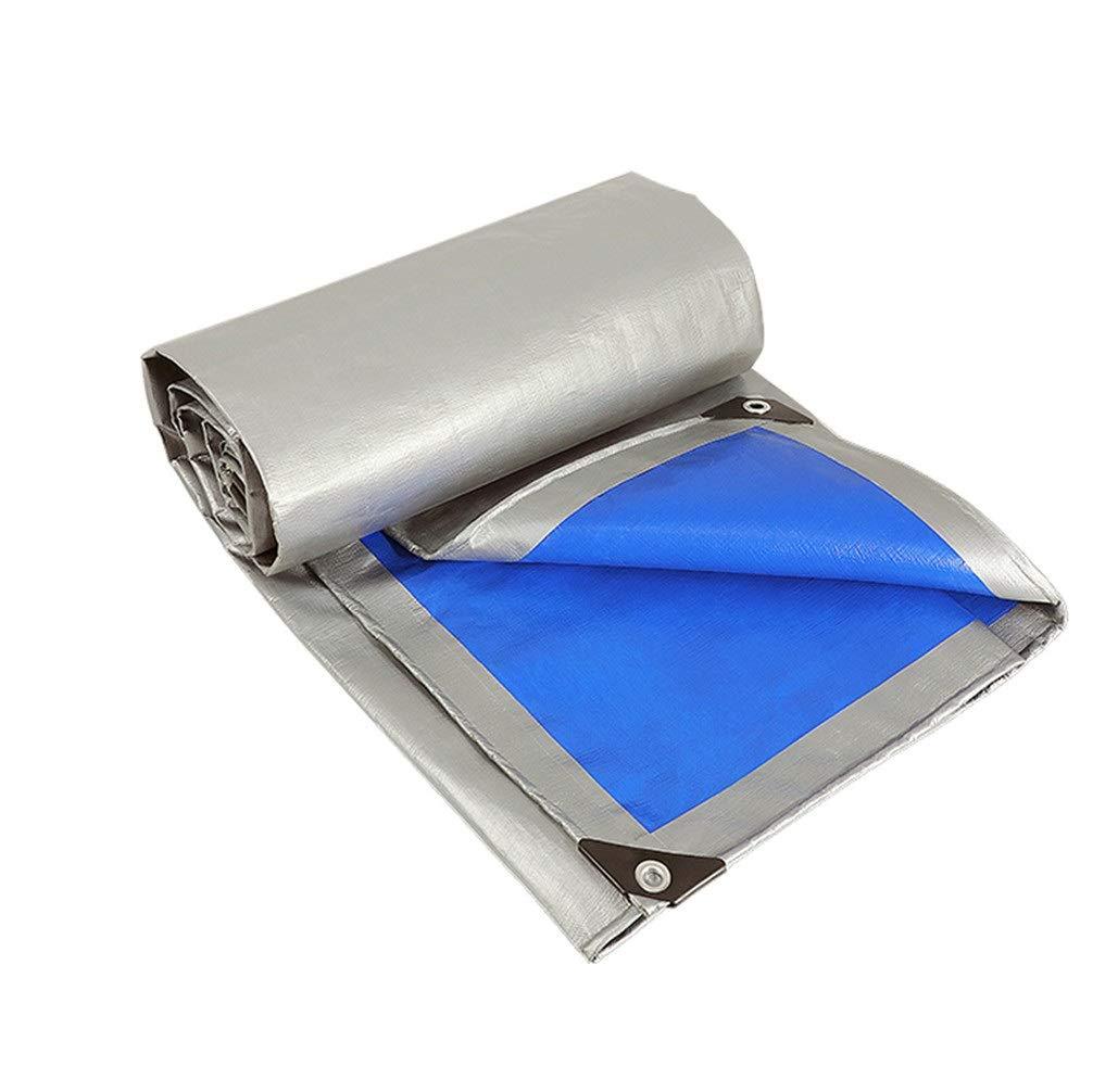 ファニチャーカバー 防水シート防水日焼け止め屋外肥厚ターポリンシェード雨プラスチックキャノピートラックキャンバス (Color : Royal blue, Size : 4x10m) B07SXTZY8D Royal blue 4x10m