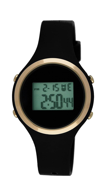Moulin Ladies Digital Jelly Watch Black 03158-76628