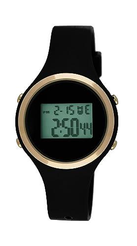 Moulin Ladies Digital Jelly Reloj Negro # 03158 - 76628: Amazon.es: Relojes