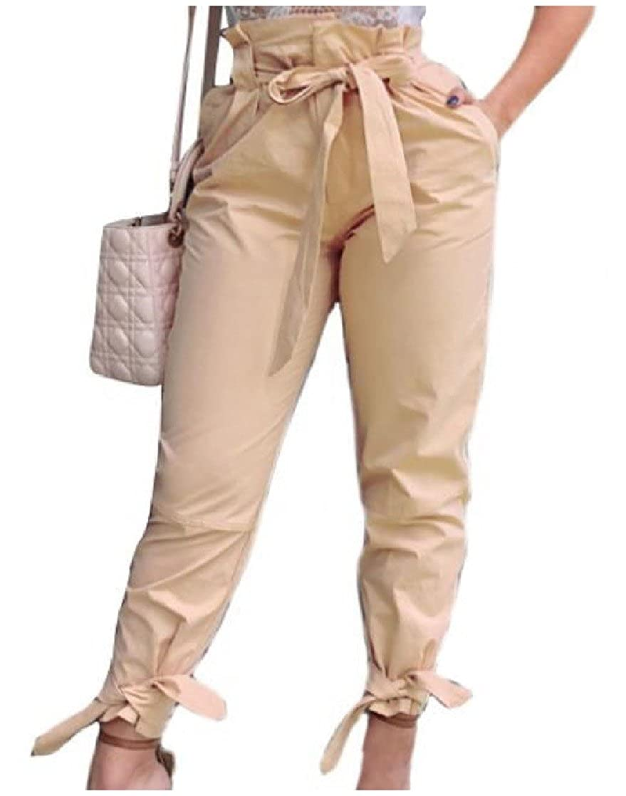 EnergyWomen Strappy Over Sized Regular-Fit High Waist Baggy Pants