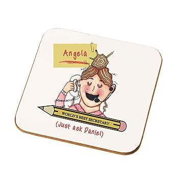 amazon com personalised best female secretary gifts secretary