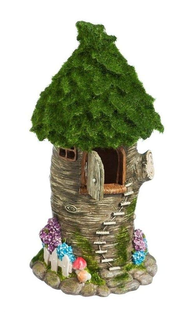 Miniature Dollhouse FAIRY GARDEN - Winding Stairs Fairy Treehouse - Accessories