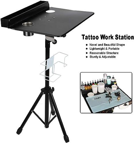 Mesa de Trabajo para Tatuar Soporte de Estación de Portátil para ...