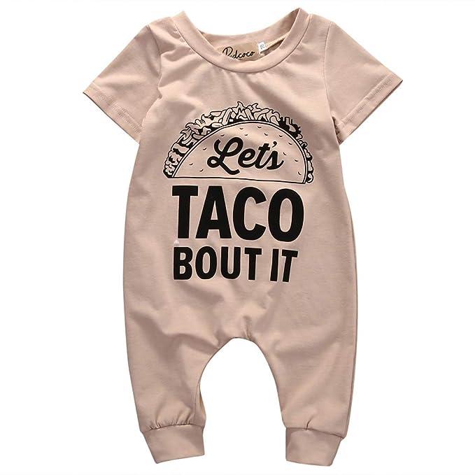 Amazon.com: Zbkdds - Ropa de verano para bebé, niña, niño ...
