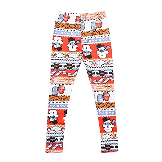 ce83204f1ea06f Image Unavailable. Image not available for. Color: Mommy and Me Christmas  Snowman Print Leggings ...