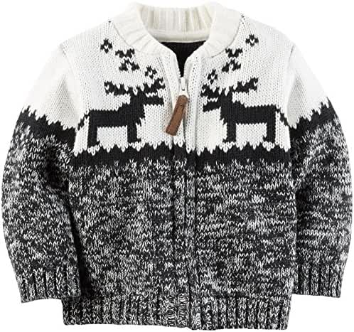 Carter's Baby Boys Fair Isle Cardigan