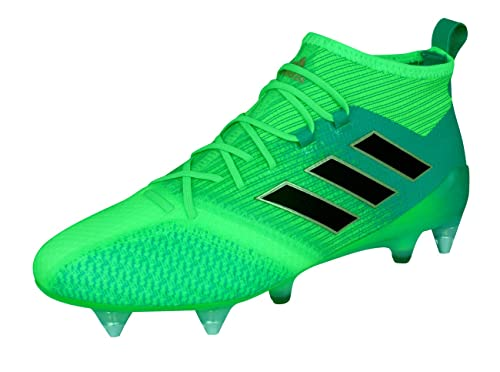 online store 801c4 b9da0 adidas Men s Ace 17.1 Primeknit SG for Soccer Training Shoes, Green Verde  (Versol