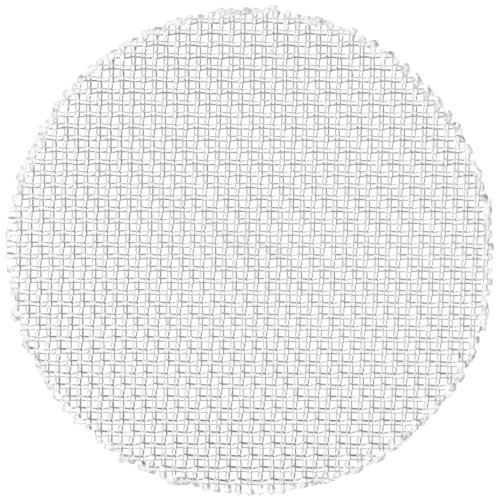 Nylon 6/6 Woven Mesh Round, Opaque Off-White, 1/2'' OD, 36 microns Mesh Size, 28% Open Area (Pack of 100) by Small Parts